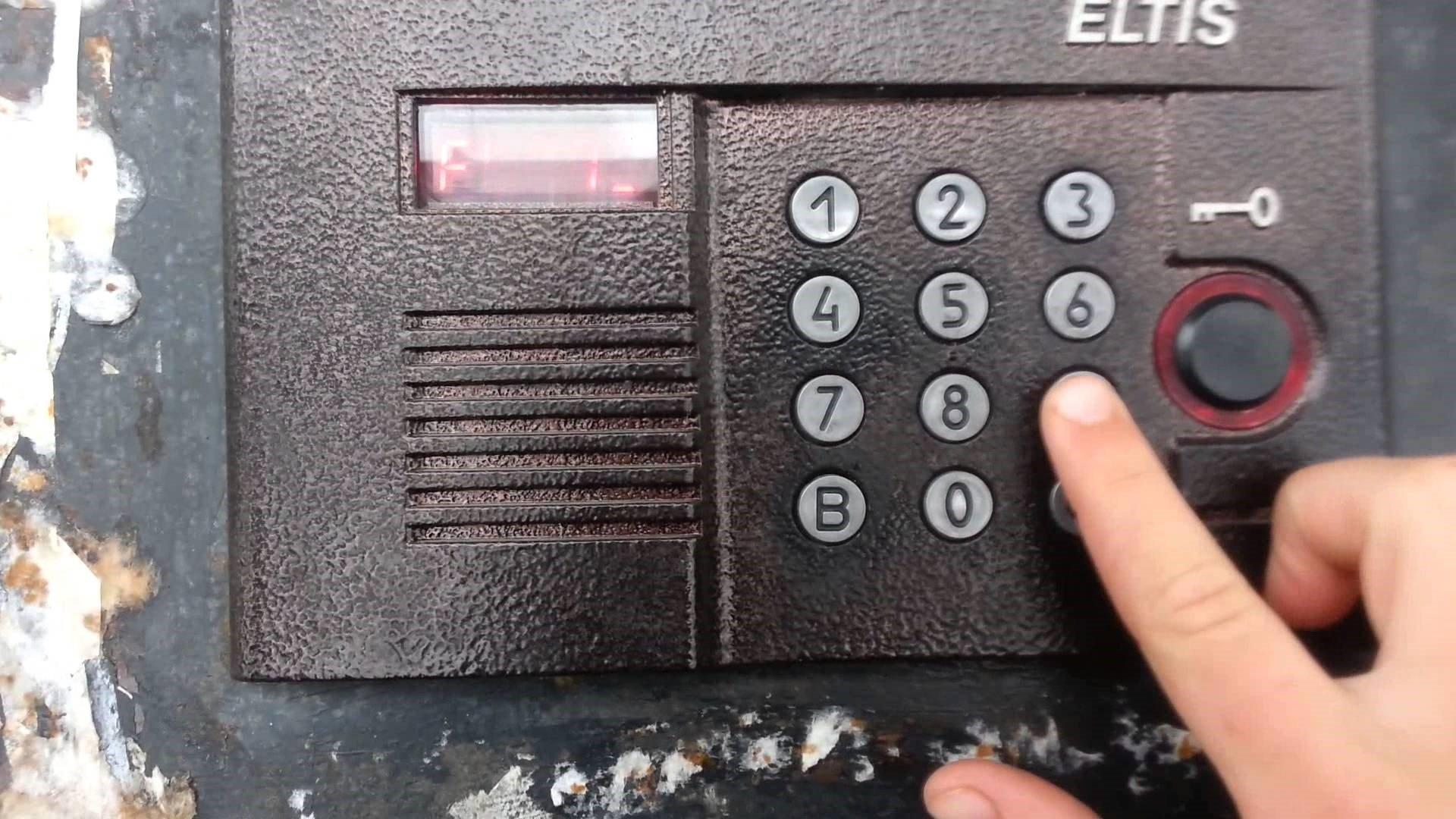 Домофон eltis открыть без ключа