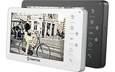 Видеодомофоны Тантос: особенности и различия серий